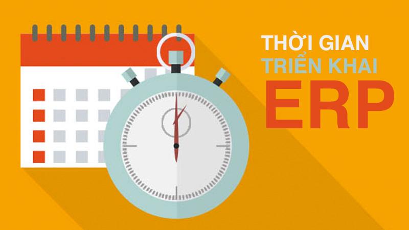 Thời gian triển khai ERP